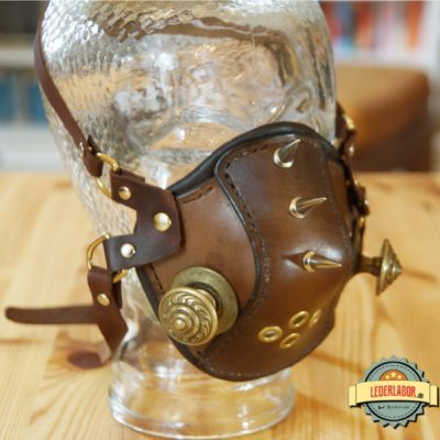 Steampunk High Altitude Mask.