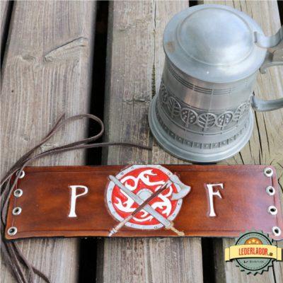 Flaschenband Premer Feuer.