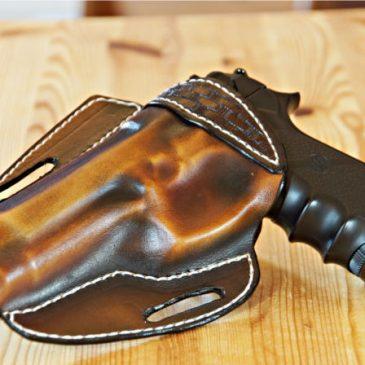 Lederholster für Airsoftpistole