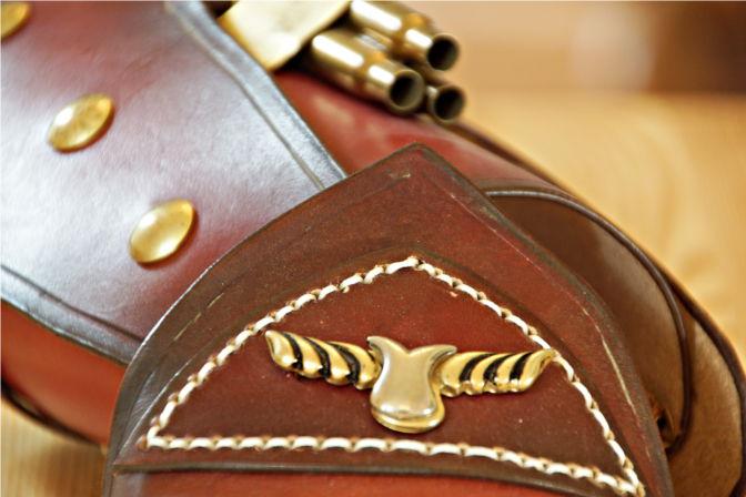 Details auf dem Handschutz.