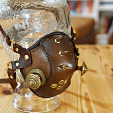 High Altitude Mask (Steampunk)