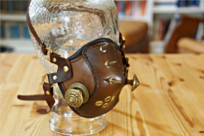Steampunk High Altitude Mask. (C.B.)