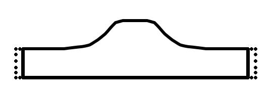 Form des Augenschutzes und Hauptkörpers der Goggles aus Leder.