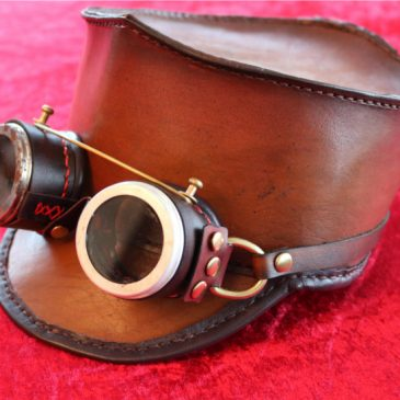 Steampunk Goggles – Basismodell mit Schnittmuster