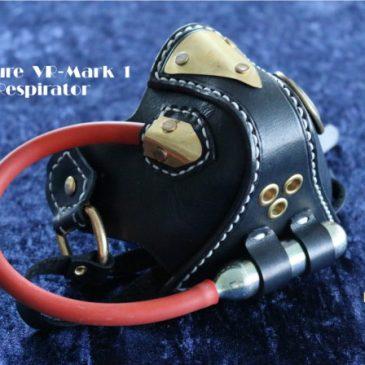 Vulture VR-Mark 1 Steampunk Respirator aus Leder