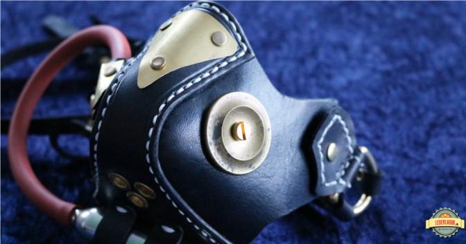 """Seitenansicht von links auf den VR-Mark 1 mit dem """"Überdruckventil""""."""