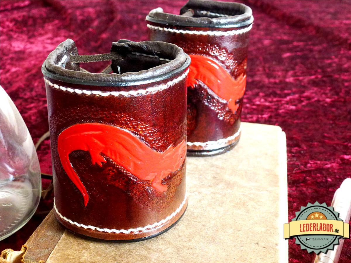 Der rote Salamander und der Rote Salamander... Band und Bund...wie passend!