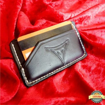 Minimalist Wallets (Geldbörsen) aus Leder mit DSA Motiven