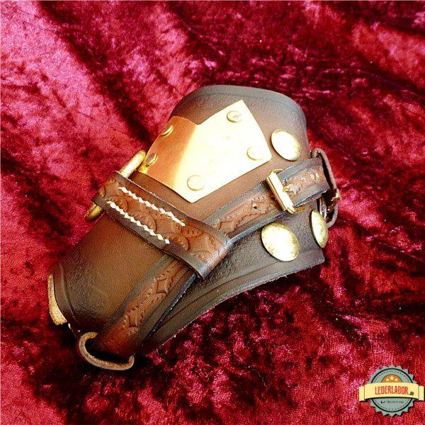 Steampunk Handschutz von vorne.